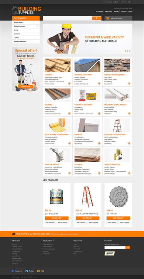 layout building instructions magento home repairs responsive magento theme templates buy