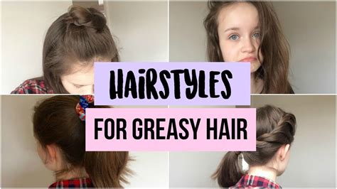 a quick fix for oily hair dry clean it one good thing quick easy greasy hair hairstyles quick hair fixes