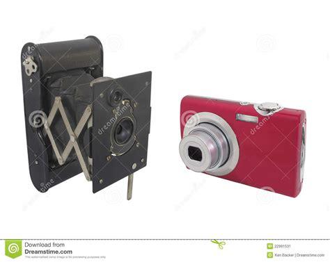 imagenes de imprentas antiguas y modernas c 225 maras modernas y antiguas aisladas imagen de archivo