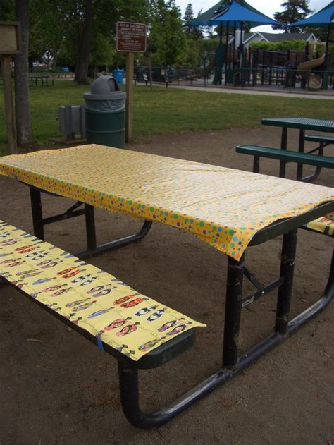 picnic bench covers 25 best ideas about picnic table covers on pinterest picnic theme birthday