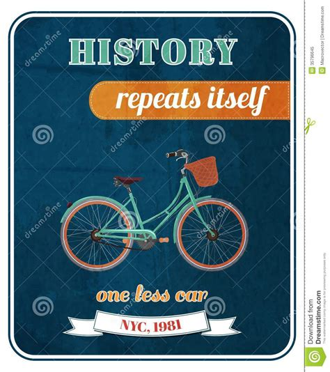 Cyling Vintage Humour Poster Free Stock Photo Public Domain Pictures Hipster Bicycle Promo Poster Royalty Free Stock Photo