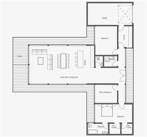 modern beach house floor plans ch164 modern beach house plan beach house plans
