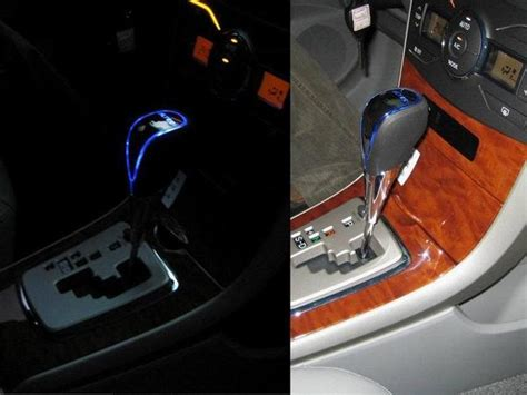 Light Up Gear Shift Knobs by Sell Toyota Automatic Camry Higlander Blue Led Gear