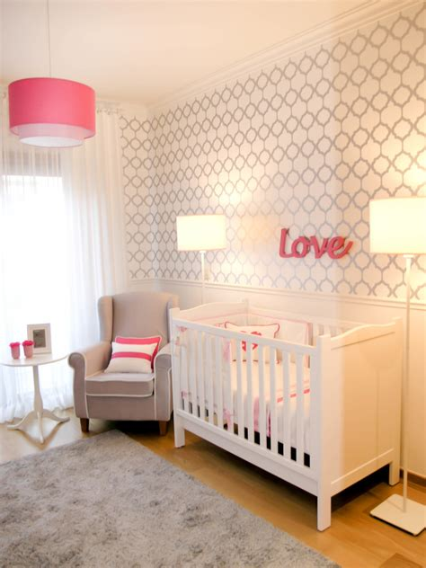 pink and white nursery love white gray and pink nursery project nursery