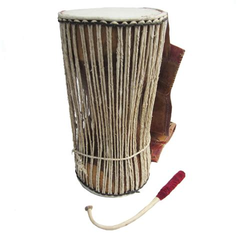 Talking Drum: Yoruba (Nigeria)   Large   African Drumming