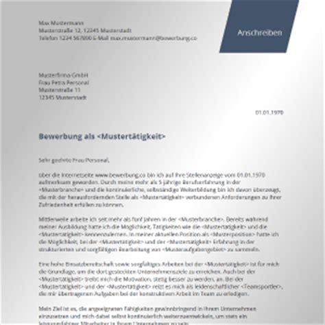 Moderne Vorlagen Muster Bewerbungsschreiben Bewerbungsanschreiben 2017
