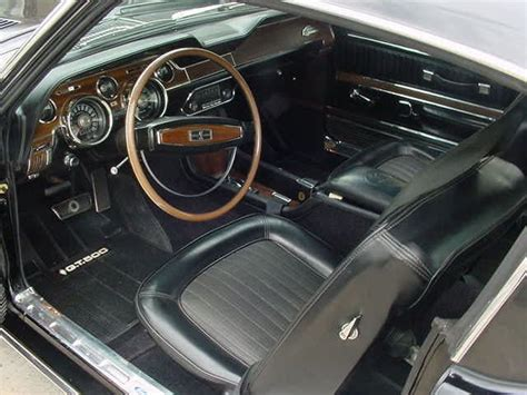 1968 Mustang Deluxe Interior by Cars You Should 1968 1 2 Shelby Cobra Mustang Gt500 Kr Stangtv