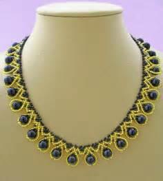 Beaded collar necklace pattern http beadsmagic com p 4494