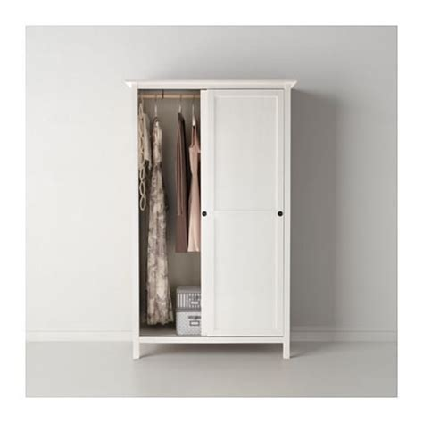 Armoire 2 Portes Coulissantes Ikea by Hemnes Armoire 2 Portes Coulissantes Teint 233 Blanc Ikea