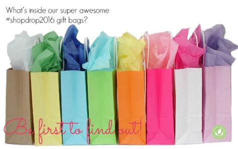 Gift Helps Shopping Challenged by Shopdrop2016 Gift Bag Preview Greenest
