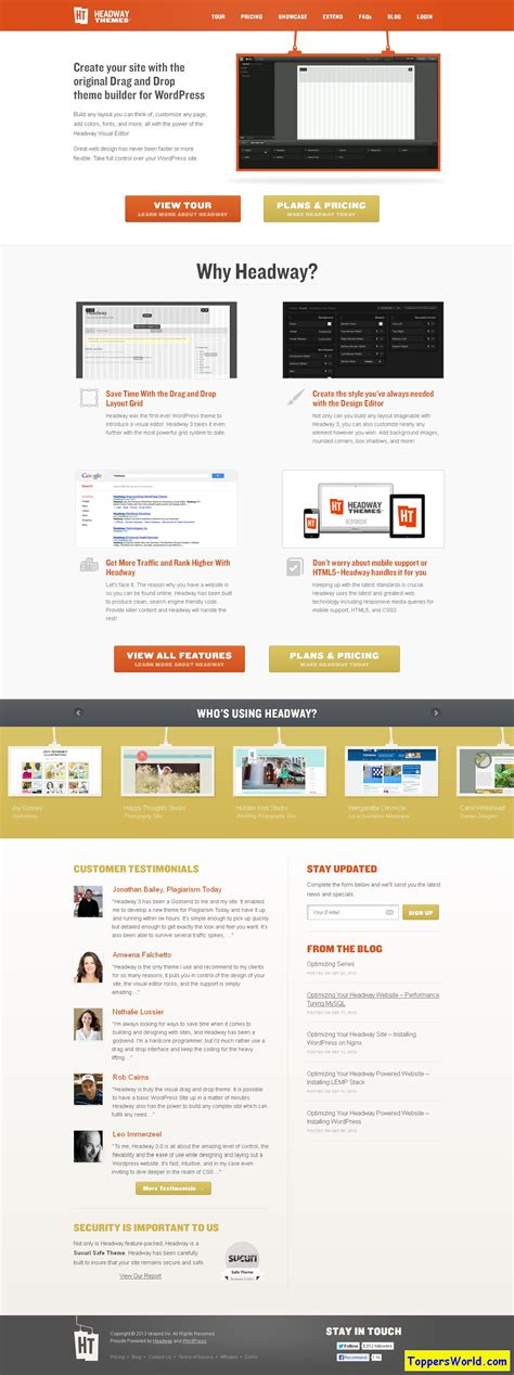 headway themes exles pretty headway wordpress theme photos exle resume and