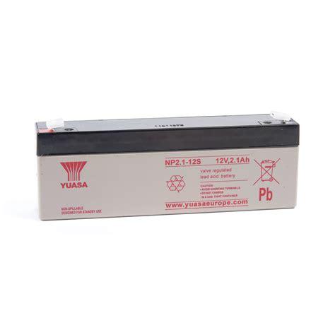 Batery Ups Yuasa Np 1 2 12 np 12v dc valve regulated lead acid battery 1 2ah