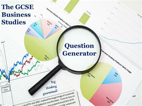 Or Question Generator The Gcse Business Studies Question Generator By Mikegershon Teaching Resources Tes