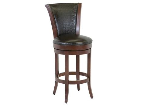 leather back bar stools classic leather parker upholstered back bar stool cl7674asb