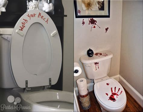 party in the bathroom the bathroom blog halloween decoration ideas for the