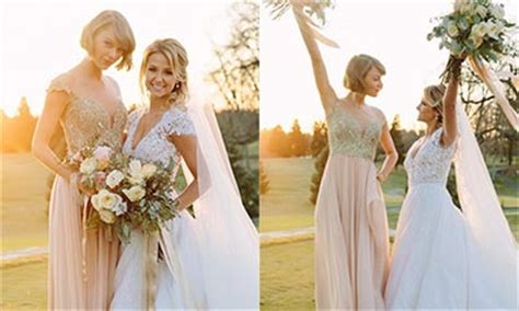 Watch Taylor Swift's emotional maid of honour speech   HELLO!