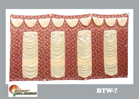 8 ft curtains bharat tent works side curtain 8 ft height design
