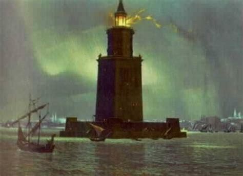 majestic island light these are the majestic seven wonders of the ancient world learning mind