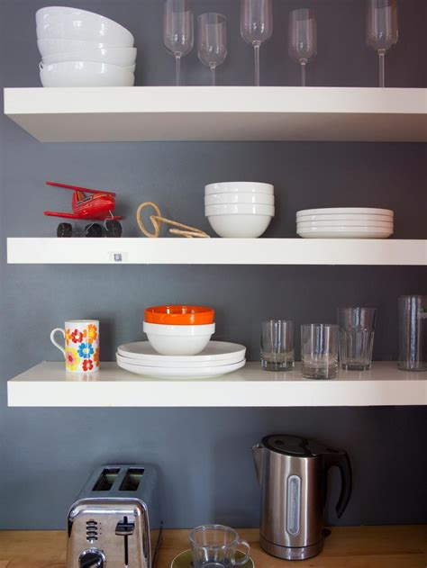 kitchenshelves com images of beautifully organized open kitchen shelving diy