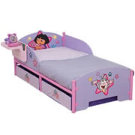 dora beds cot bed or junior bed mattress to fit dora the explorer