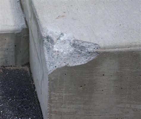 repairing  broken concrete step   repair concrete