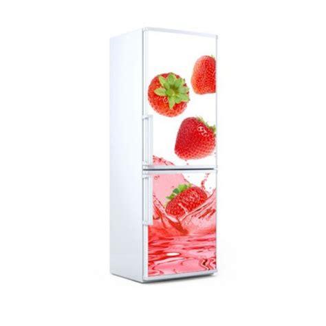 imagenes de neveras rojas vinilo para nevera con la imagen de unas fresas rojas