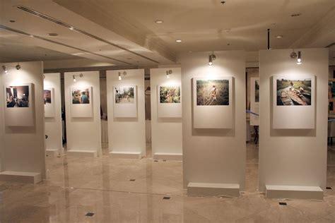 Panel Pameran Panel Display Pameran Fotografi Lukisan Seni Tautseni
