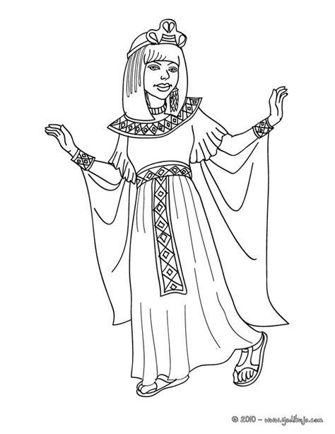 imagenes egipcias dibujos dibujos para colorear princesa egipcia es hellokids com