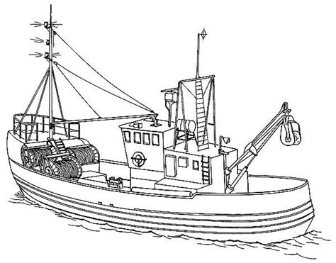how to draw a rescue boat 21 printable boat coloring pages free download