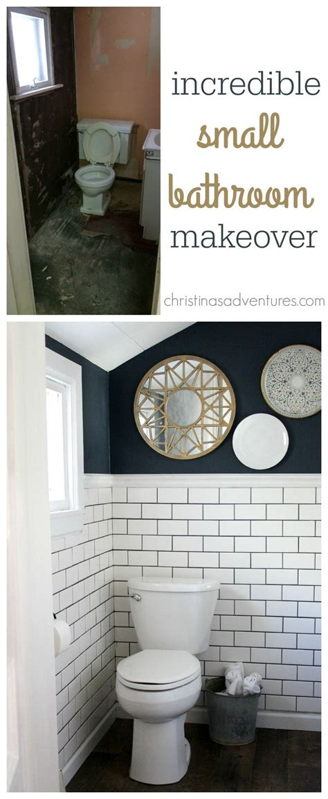 bathroom transformations woah one of the best small bathroom transformations ive