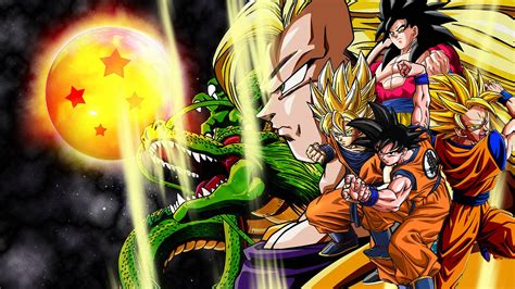 wallpaper dragon ball bergerak wallpapers of goku wallpaper cave