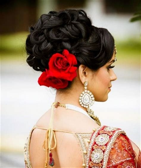 bridal hairstyles for indian reception 10 indian bridal hairstyles for weddings cocktail and