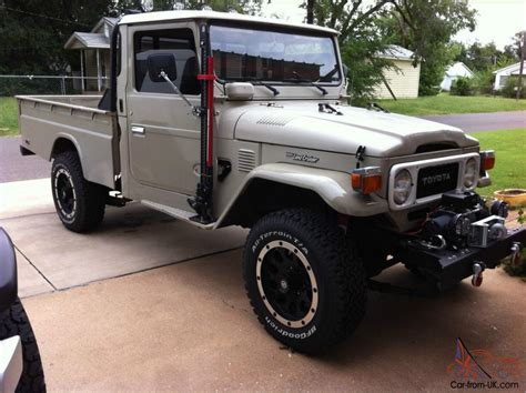 toyota land rover 1980 1980 toyota land cruiser fj45 single cab 2 door 4
