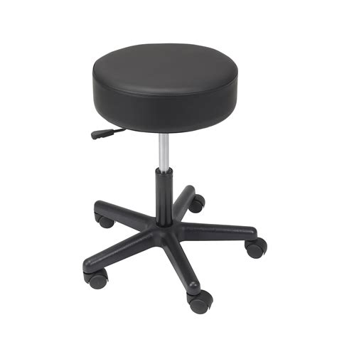 Padded Stool by 13079 Padded Seat Revolving Pneumatic Adjustable Height
