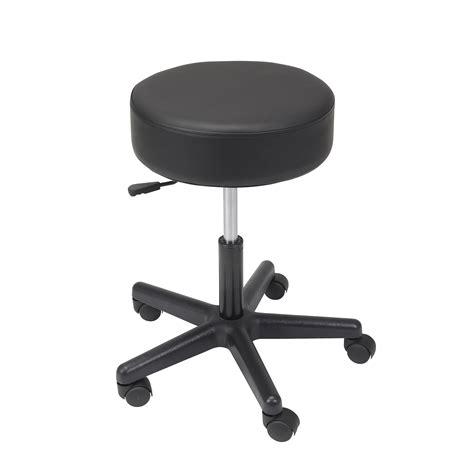 Padded Stool 13079 Padded Seat Revolving Pneumatic Adjustable Height