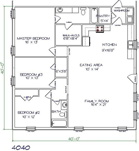 home design 40x40 barndominiums floor plans joy studio design gallery