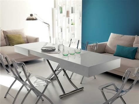 tables transformables table basse transformable et relevable cosy haut de gamme