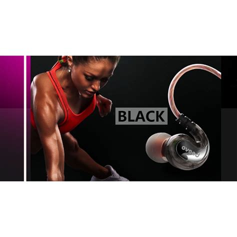 Beevo Earphones Clear Bass Sports With Microphone Murah beevo earphone bass dengan mic bv em390 black