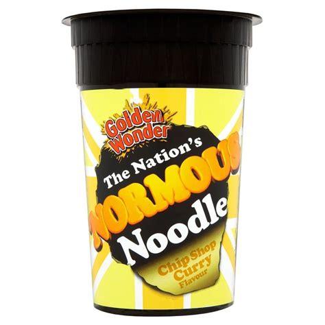 golden noodle golden normous noodle pot chip shop curry 112g ebay