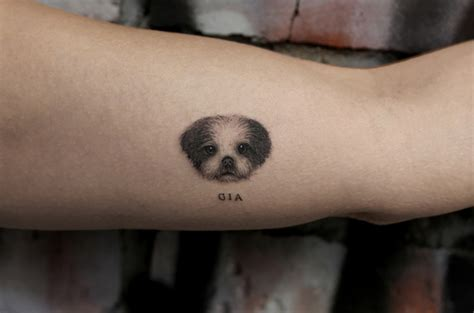 these 8 adorable pet tattoos will tickle you inked