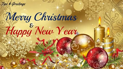 merry christmas happy  year  whatsapp greeting video hd youtube