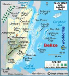 Belize On World Map by Belize On World Map Related Keywords Amp Suggestions