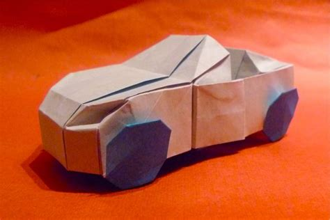 How To Make A Car Origami - cool origami car 2016