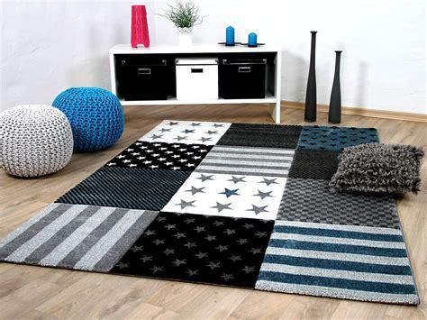 teppiche sterne kinder und jugend teppich sterne grau t 252 rkis teppiche