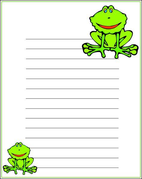 printable notepad stationery kidprintables com stationery