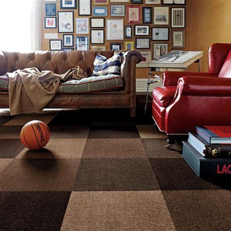 carpet tiles living room modern mix modern living room chicago by flor