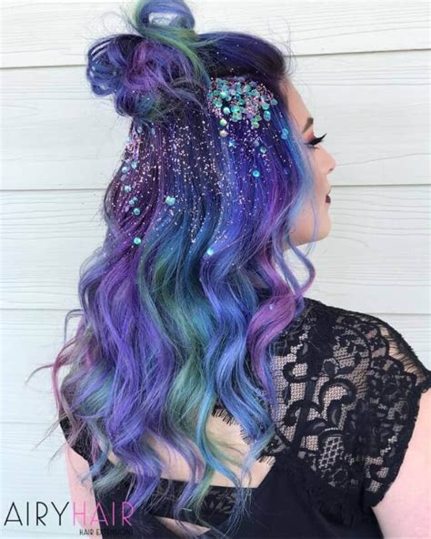 Colorful Hairstyles by 20 Stunning New Year S And Hairstyles 2017