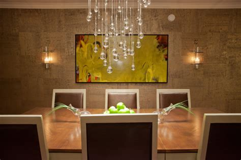 contemporary chandeliers that can put any room d 233 cor over the top is this cork wall paper and where can i find it