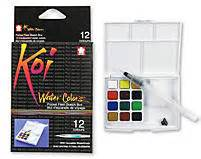 sketchbook cat air koi water color field sketch kit set of 12 colors