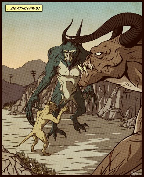 Deathclaw Meme - deathclaws by northwing on deviantart